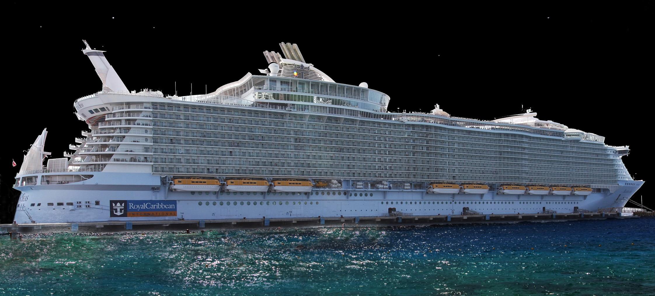 Le plus grand navire du monde en Méditerranée