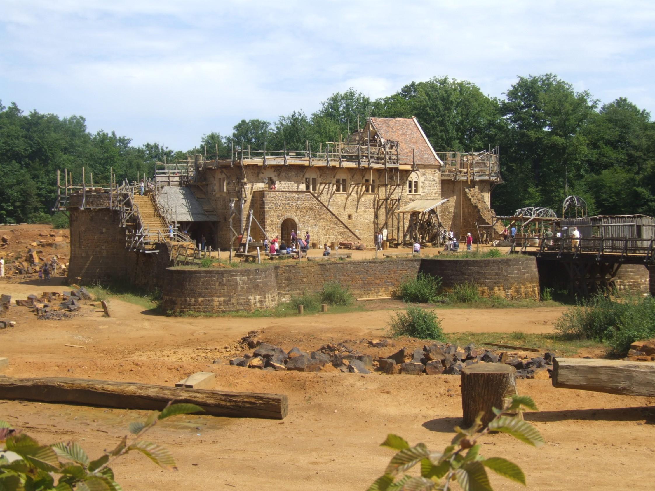 Guédelon, un château fort de notre époque