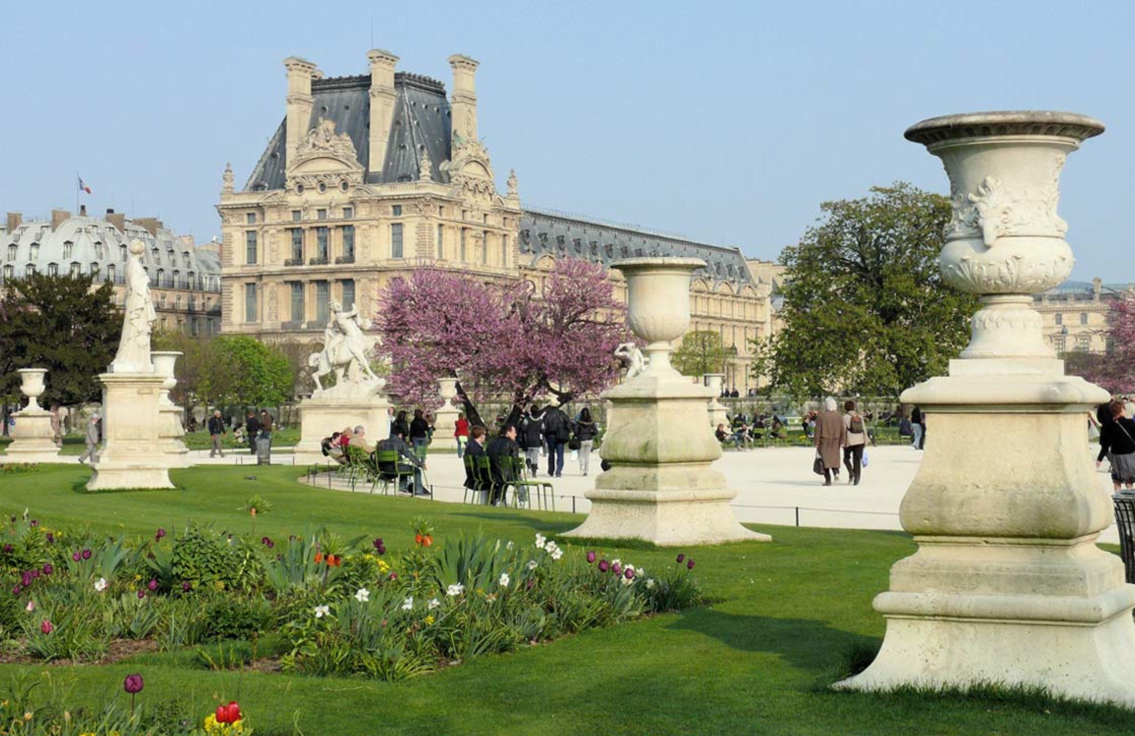 Le jardin des Tuileries entre hier et aujourd'hui…