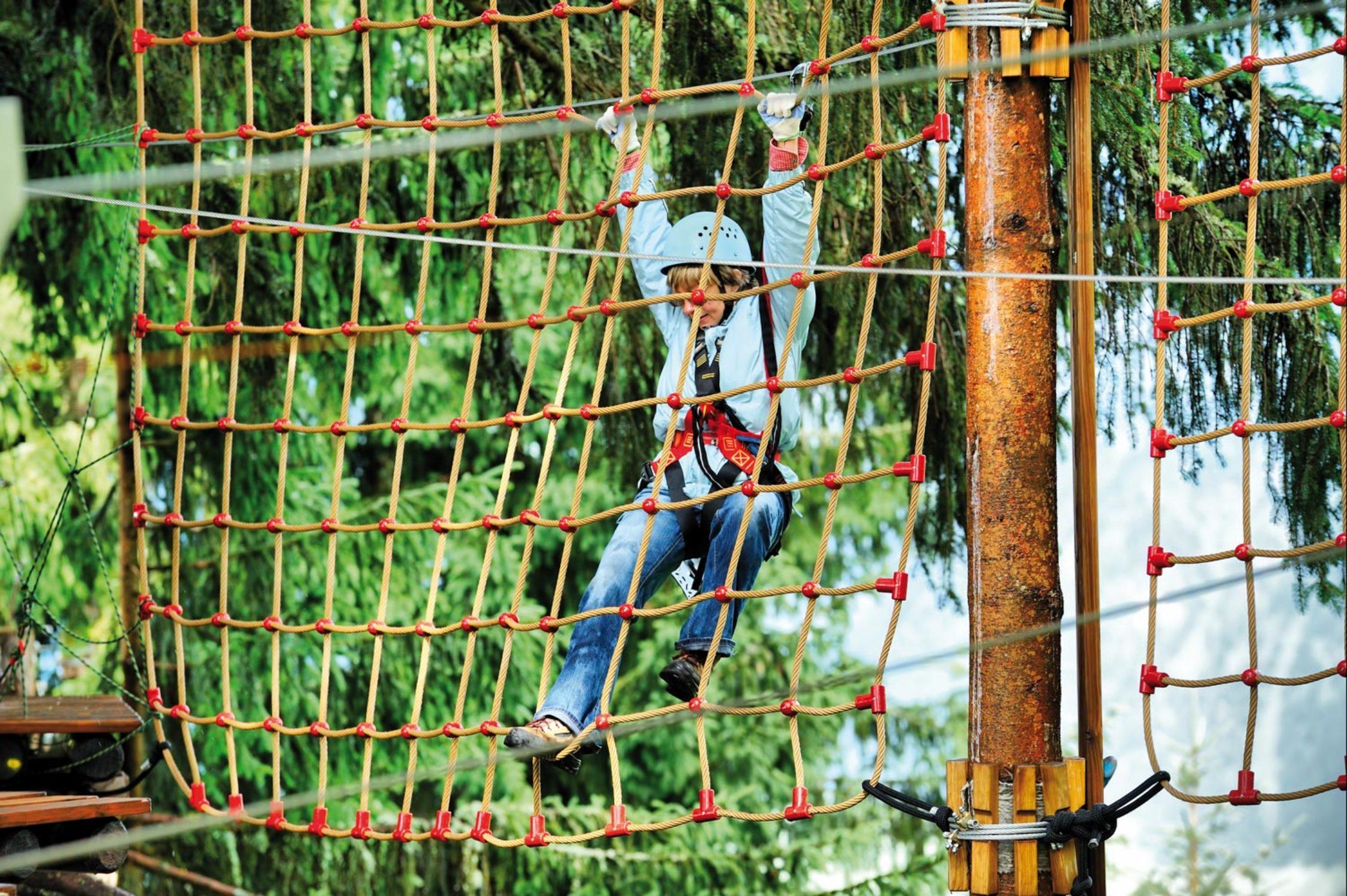 La Forêt d'Acrobates à Montagnac : un lieu de défoulement et de détente pour tous