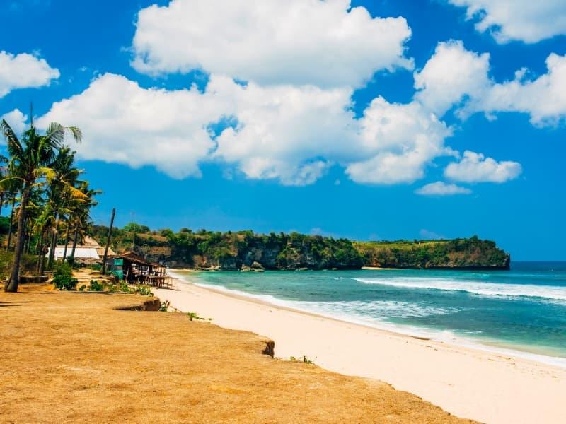 Une plage en Indonésie