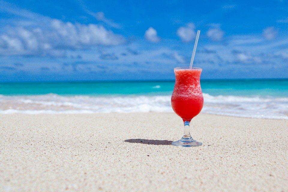 Une plage dans les Caraïbes