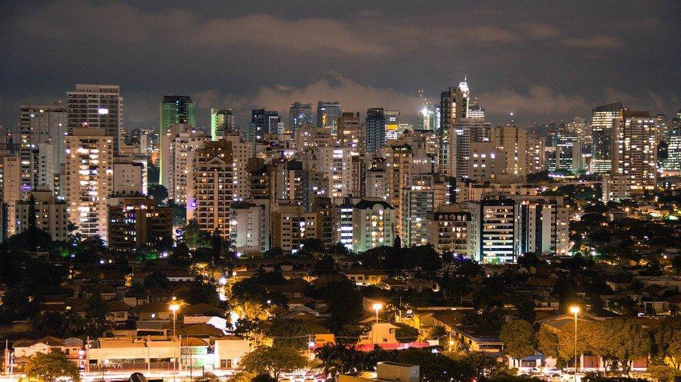 La ville de Sao Paulo au Brésil